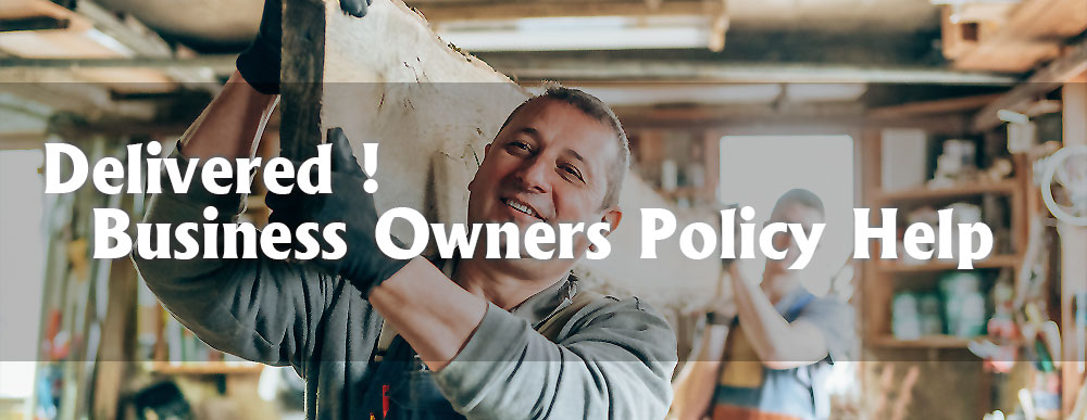 Delivered - Your Time-Tested Easy Business Owners Policy Help