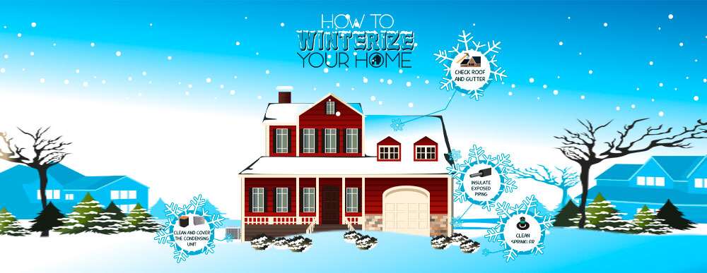 How to winterize pipes for water damage prevention